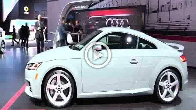 Audi TT RS Exterior and Interior Walkaround Part II