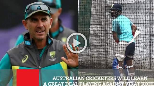 Australian Cricketers Will Learn A Great Deal Playing Against Virat Kohli