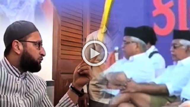 BJP Is Doing Appeasement To Sangh Parivar Forces, Says Owaisi