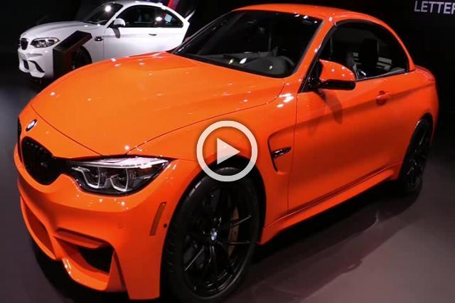 BMW M4 Convertible Exterior and Interior Walkaround Part I