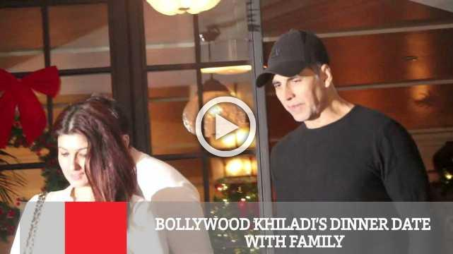 Bollywood Khiladi's Dinner Date With Family