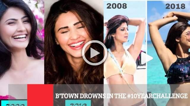 B'town Drowns In The #10yearchallenge