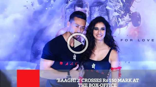 'Baaghi 2' Crosses Rs 150 Mark At The Box Office