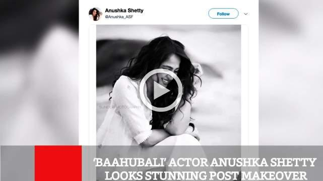 Baahubali' Actor Anushka Shetty Looks Stunning Post Makeover