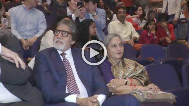 Bachchans Attend Paris Ballet Legends