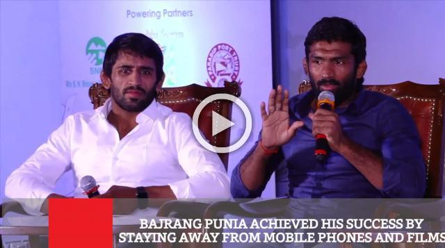 Bajrang Punia Achieved His Success By Staying Away From Mobile Phones And Films