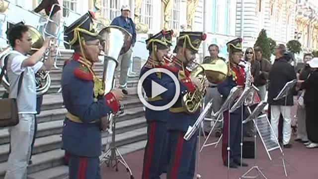 Beautiful City Pushkin in Russia Part III