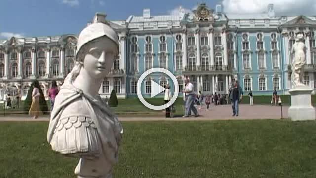 Beautiful City Pushkin in Russia Part I