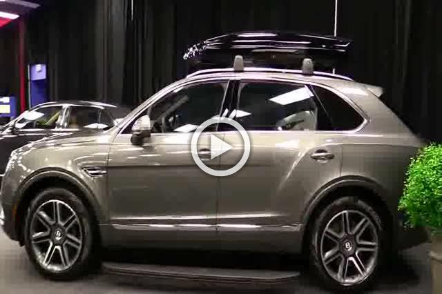 Bentley Bentayga Exterior and Interior Walkaround 2018 Part I