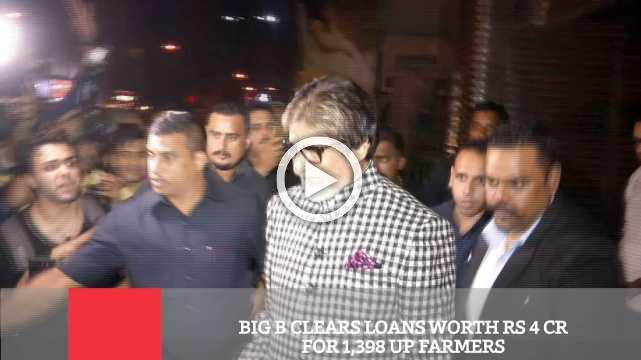 Big B Clears Loans Worth Rs 4 Cr For 1,398 Up Farmers