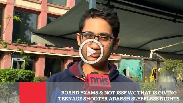 Board Exams & Not ISSF WC That Is Giving Teenage Shooter Adarsh Sleepless Nights