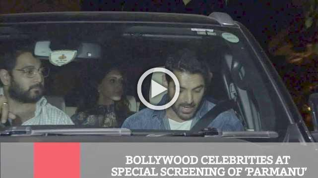 Bollywood Celebrities At Special Screening Of 'Parmanu'