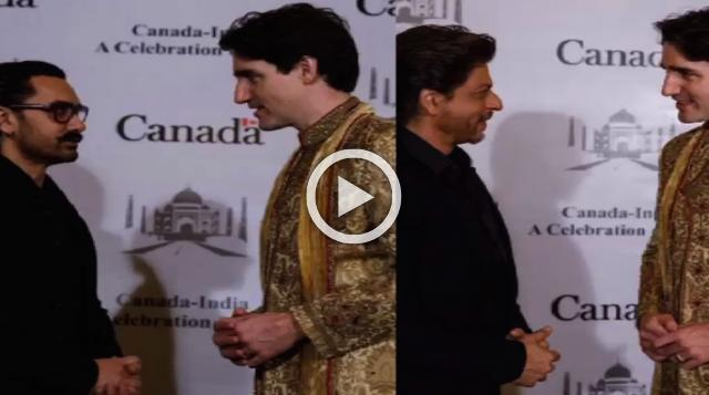 Bollywood Celebs Meet Canadian PM Justin Trudeau And Family