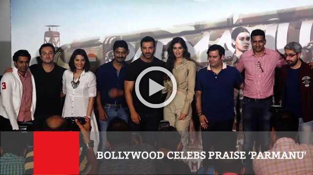 Bollywood Celebs Praise 'Parmanu'