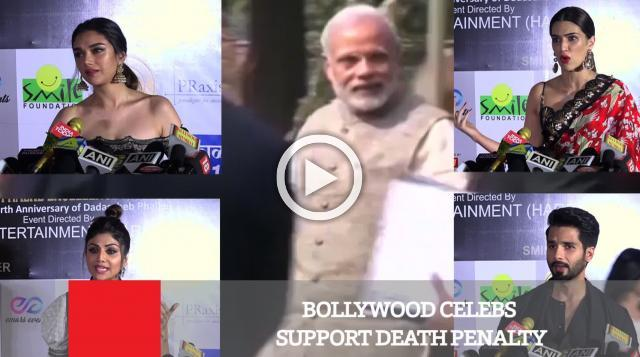 Bollywood Celebs Support Death Penalty