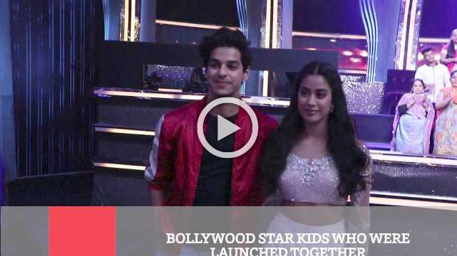 Bollywood Star Kids Who Were Launched Together