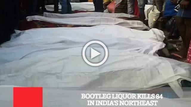 Bootleg Liquor Kills 84 In India's Northeast