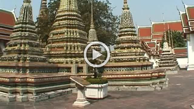 Buddhist Temple complex Wat Po Thailand Part II