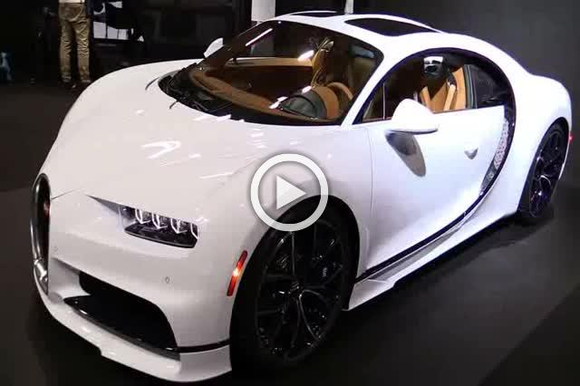 Bugatti Chiron Walkaround Motor Show Part II