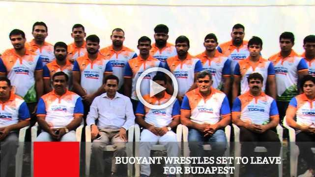 A strong 30-member team, led by Olympic medallist Sakshi Malik and Asian Games gold medallist Bajrang Punia will represent India at the World Wrestling Championships to be held in Budapest, Hungary fr