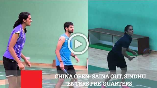 China Open- Saina Out, Sindhu Enters Pre-Quarters