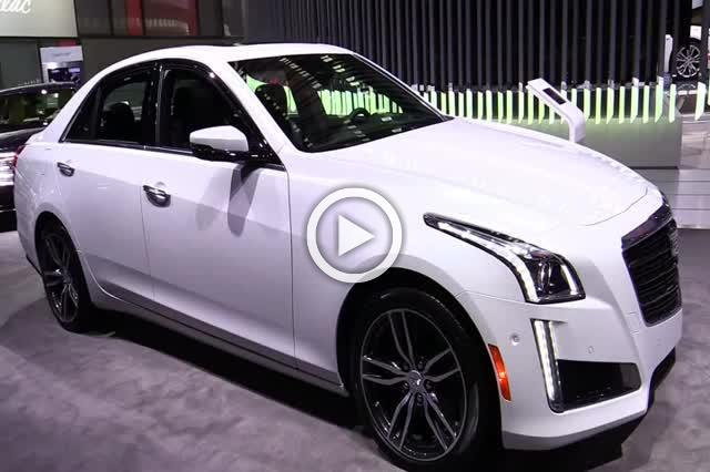 Cadillac CTS Exterior and Interior Walkaround 2018 Part I