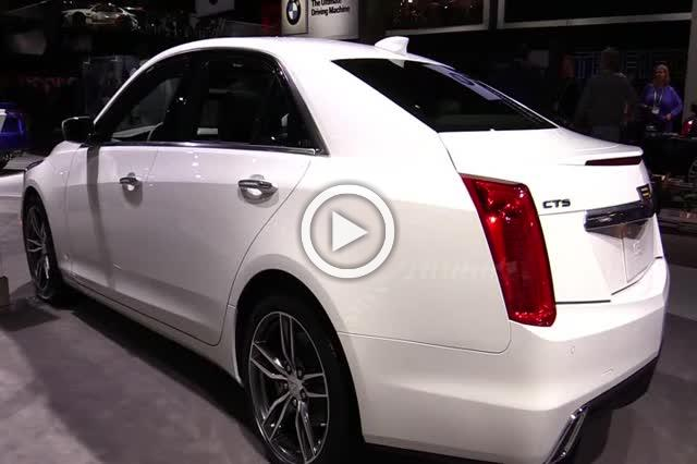 Cadillac CTS Exterior and Interior Walkaround 2018 Part II