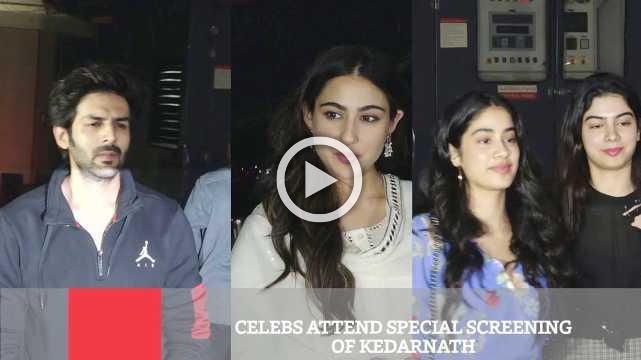 Celebs Attend Special Screening Of Kedarnath