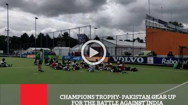 Champions Trophy  Pakistan Gear Up For The Battle Against India