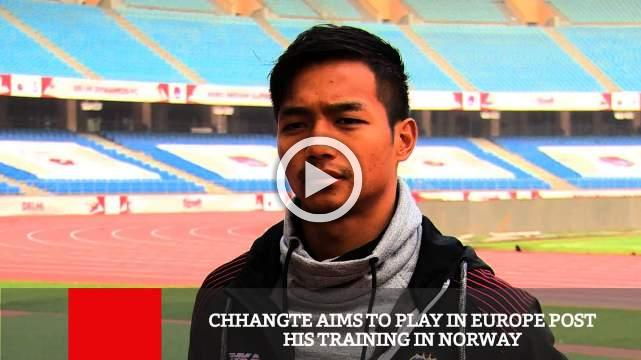 Chhangte Aims To Play In Europe Post His Training In Norway