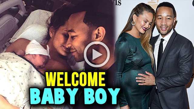 Chrissy Teigen Gives Birth To Baby Boy