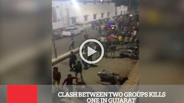 Clash Between Two Groups Kills One In Gujarat