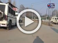 Complete shutdown at Pattan against the civilian killings in Pulwama district