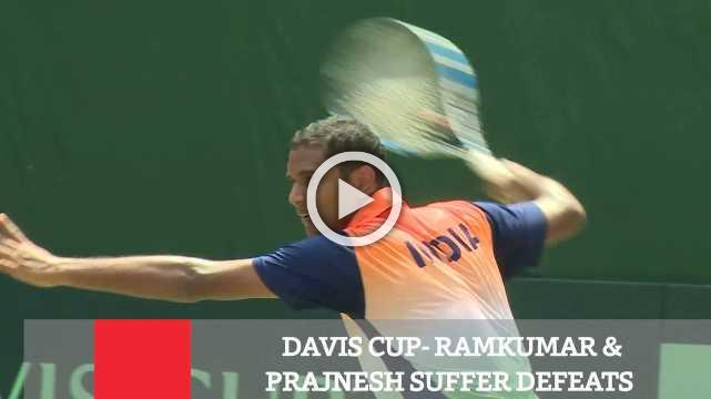 Davis Cup- Ramkumar & Prajnesh Suffer Defeats