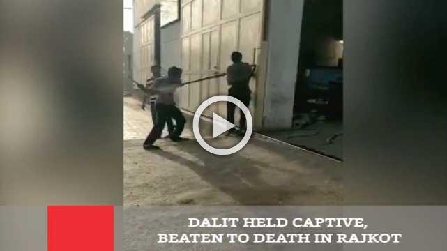 Dalit Held Captive, Beaten To Death In Rajkot