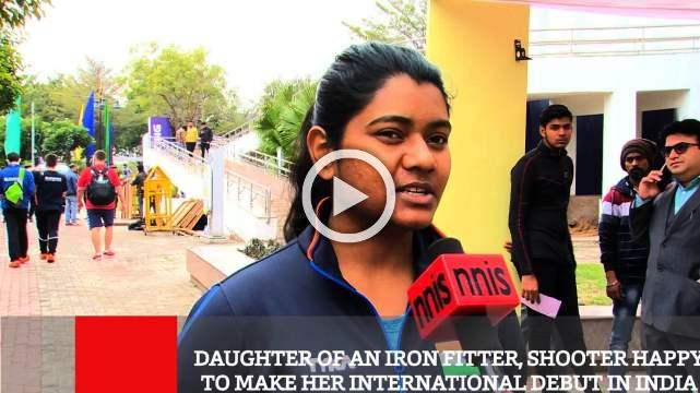 Daughter Of An Iron Fitter, Shooter Happy To Make Her International Debut In India