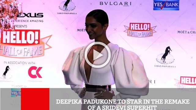 Deepika Padukone To Star In The Remake Of A Sridevi Superhit