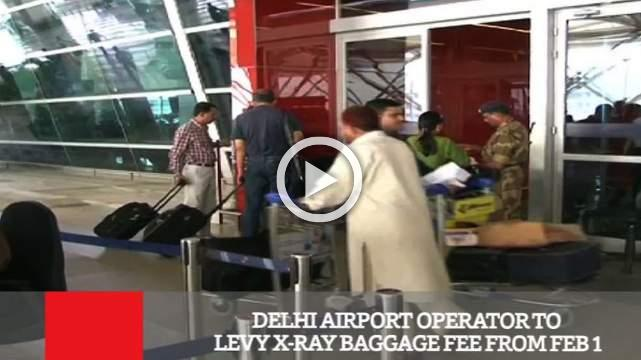 Delhi Airport Operator To Levy X Ray Baggage Fee From Feb 1