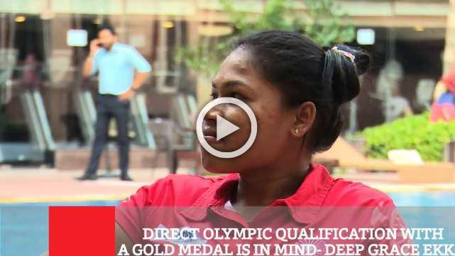 Direct Olympic Qualification With A Gold Medal Is In Mind- Deep Grace Ekka