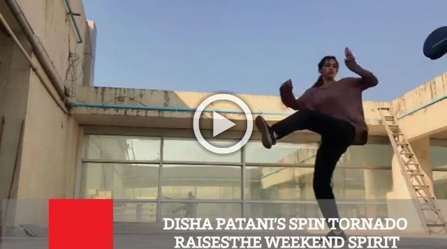 Disha Patani's Spin Tornado Raisesthe Weekend Spirit