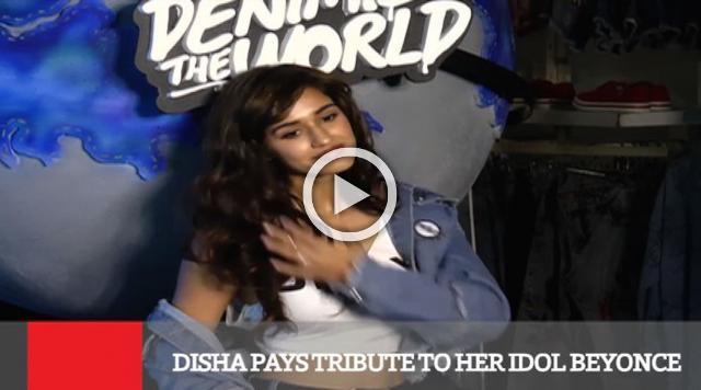 Disha Pays Tribute To Her Idol Beyonce