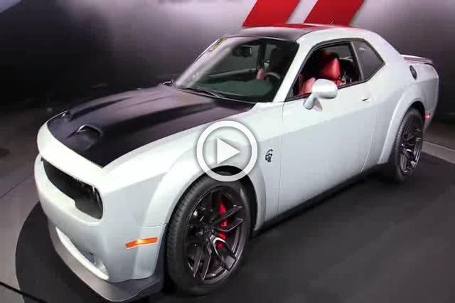 Dodge Challenger Hellcat Exterior and Interior Walkaround Part II