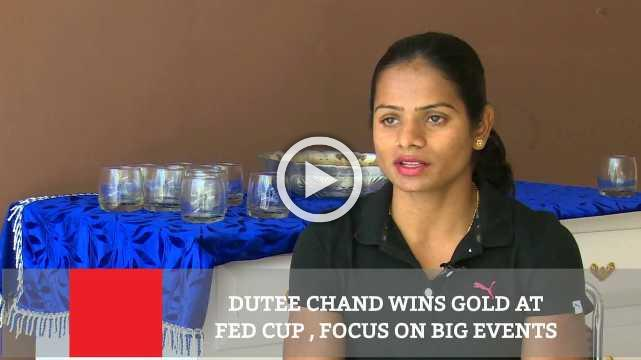 Dutee Chand Wins Gold At Fed Cup , Focus On Big Events