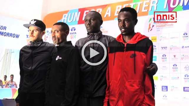 Elite Athletes Ready For Sunday's TATA Mumbai Marathon