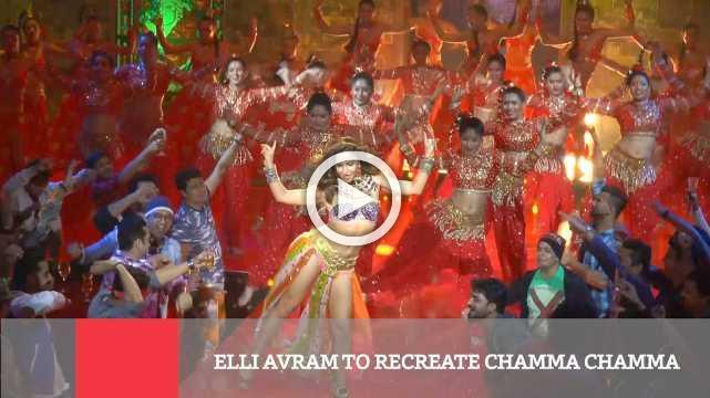 Elli Avram To Recreate Chamma Chamma