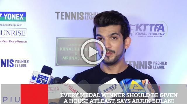 Every Medal Winner Should Be Given A House Atleast, Says Arjun Bijlani