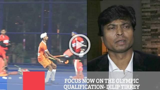 Focus Now On The Olympic Qualification- Dilip Tirkey