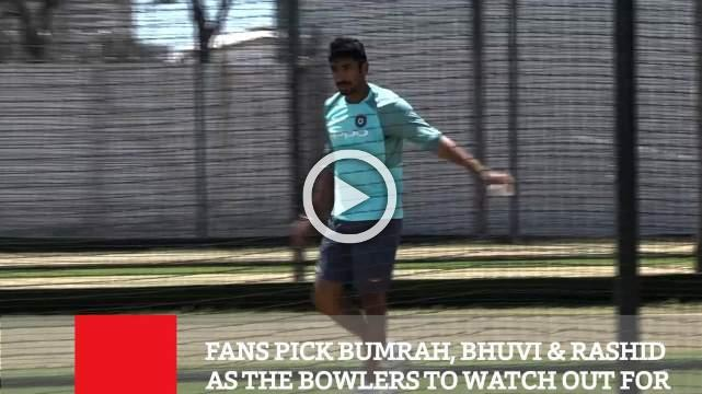 Fans Pick Bumrah, Bhuvi & Rashid  As The Bowlers To Watch Out For
