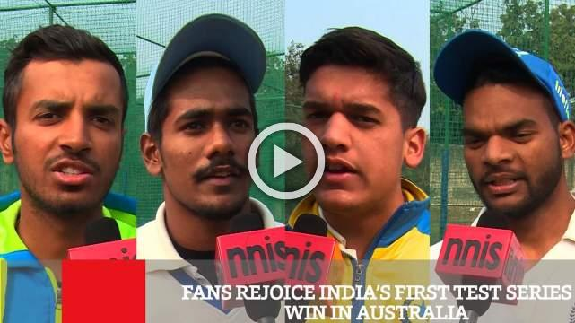 Fans Rejoice India's First Test Series Win In Australia