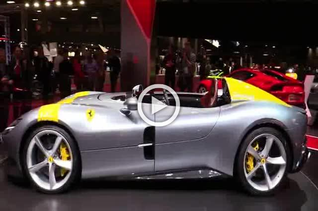 Ferrari Monza SP1 Exterior and Interior Walkaround Part II